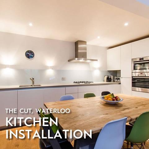 Kitchen Installation, The Cut, Waterloo