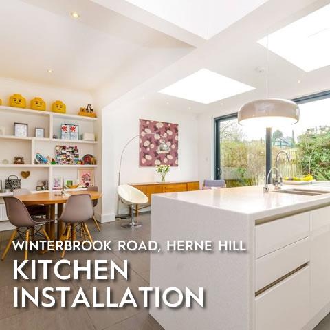 Kitchen Installation, Winterbrook Road, Herne Hill