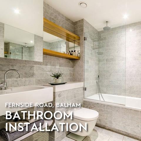 Bathroom Installation, Fernside Road, Balham