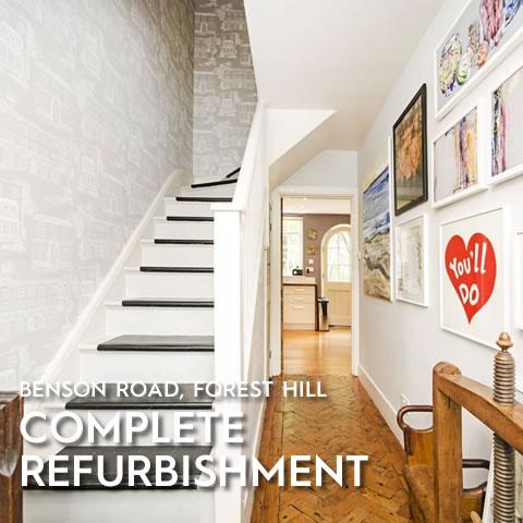 Complete Refurbishment, Benson Road, Forest Hill